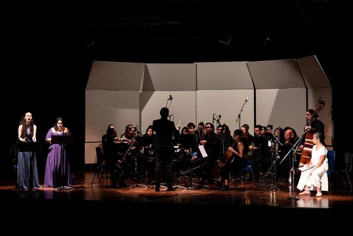Keren Padilla mezzo soprano cantante lirica